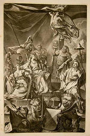 Portraits aller Herren Burger-Meistern, der Vortrefflichen Republique,: Walch, Sebastian