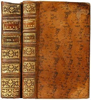 De curandis febribus continuis liber; in quator: LOMMIUS, Jodocus (1500-1564)
