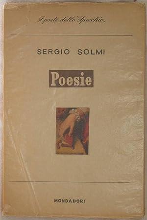 POESIE,: SERGIO SOLMI