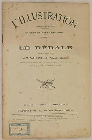 SAMEDI 26 DECEMBRE 1903 LE DEDALE PIECE: PAUL HERVIEU