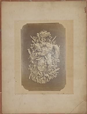 LE GIBIER A POIL N. 100 THEOPHILE HINGRE G. GRAVET PHOT. PARIS RUE MONTESQUIEU, 6,