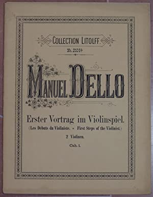 "ESTER VORTRAG IM VIOLINSPIEL (LES DEBUTS DU JEUNE VIOLINISTE"" BELIEBTE MELODIEN, TANWEISEN UND..."