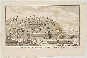 Costruzione delle Piramidi d'Egitto secondo Erodoto,: Antoine Yves Goguet