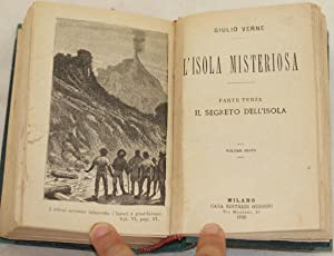 L'ISOLA MISTERIOSA,: Jules Verne