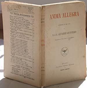 ANIMA ALLEGRA COMMEDIA IN TRE ATTI,