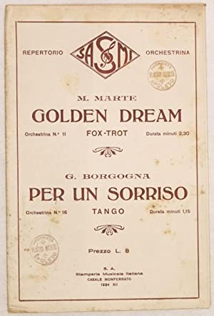 GOLDEN DREAM - PER UN SORRISO,
