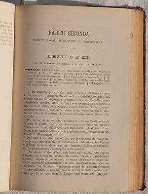 COMPENDIO DI MEDICINA LEGALE,: G. ZIINO