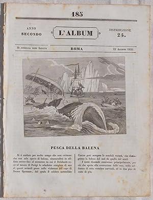 L'ALBUM DI ROMA 22 AGOSTO 1835,
