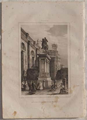 MONUMENTO DI BARTOLOMEO COLLEONI VENEZIA,