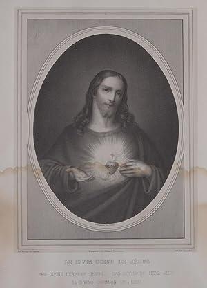 LE DIVIN COEUR DE JESUS GALERIE DES FAMILLES CHRETIENNES PL. 2,