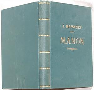 MANON OPERA IN QUATTRO ATTI E CINQUE QUADRI,: Jules Massenet