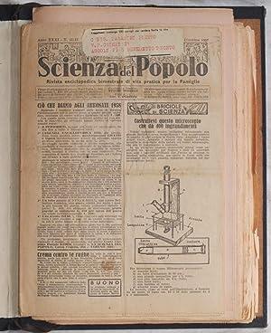 SCIENZA DEL POPOLO RIVISTA ENCICLOPEDICA BIMESTRALE DI VITA PRATICA PER LE FAMIGLIA DICEMBRE 1957 ...