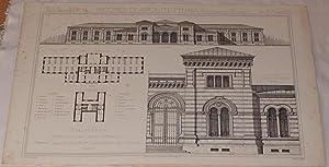 BIBLIOTECA PROGETTO DELL'ARCH. C. MERCOLI PREMIATO NELLA SCUOLA SUP. DI ARCHITETTURA IN MILANO...