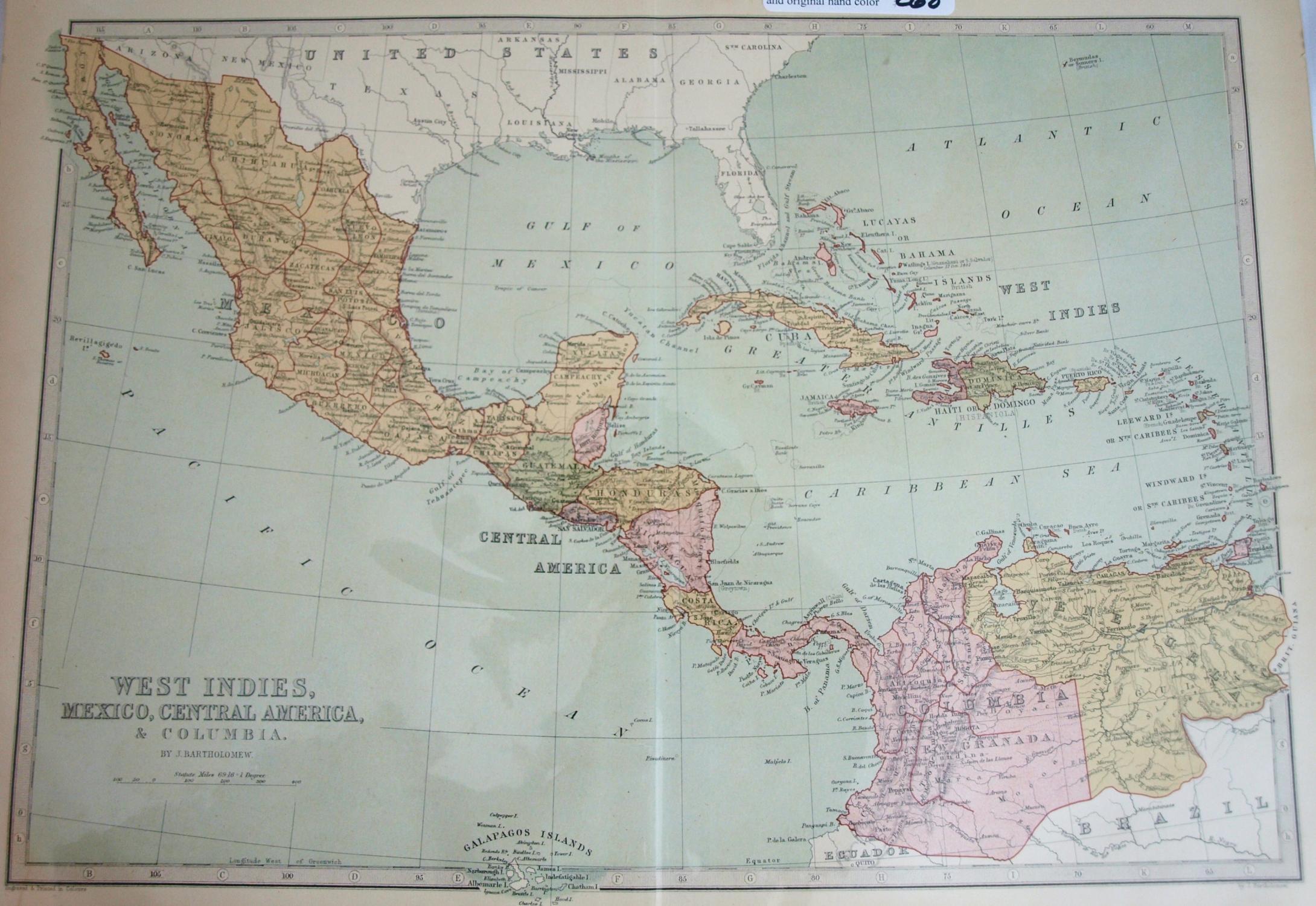 A Descriptive Hand Atlas of the World Map of...