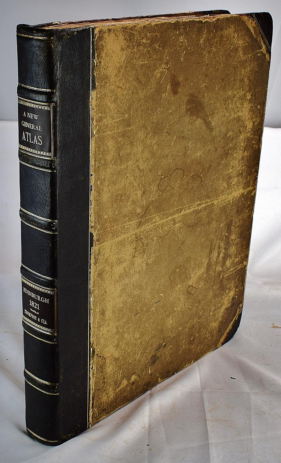 A New General Atlas, Consisting of a Series of Geographical Designs, on Various Projections, ...