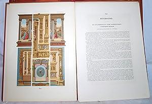 L' Ornement Polychrome deuxieme serie. Cent vingt planches en couleur or et argent. Art ...