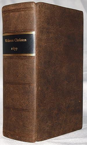 Das Erste Buch Vom Wahren Christenthum: Liber: Johann Arndt; H