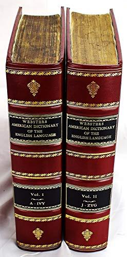 An American dictionary of the English language: Noah Webster