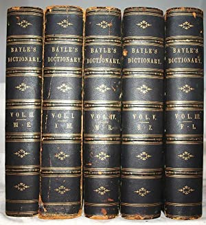 The dictionary historical and critical of Mr. Peter Bayle. 5 Volume Set