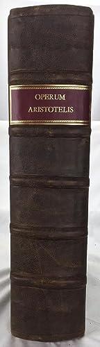 Operum Aristotelis Stagiritae Philosophorum Omnium Longe Principis,: Aristoteles; Aristotles; Isaac