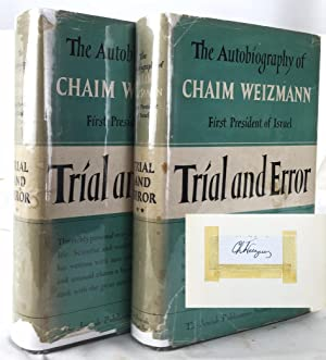 Trial and Error: The Autobiography of Chaim: Weizmann, Chaim