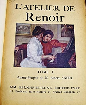 L'Atelier de Renoir (2 volume set): Auguste Renoir; Albert