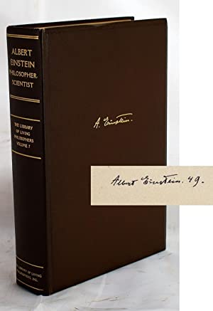 Albert Einstein, philosopher-scientist (The Library of living: Paul Arthur Schilpp;