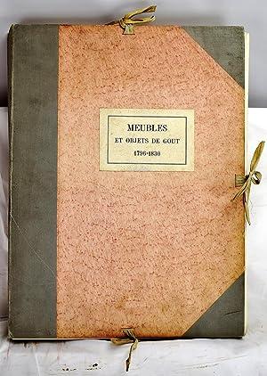 Meubles et objets de gout 1796-1830 : Paul Cornu; Pierre
