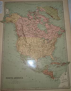 A Descriptive Hand Atlas of the World Map of North America (Pg. 10)