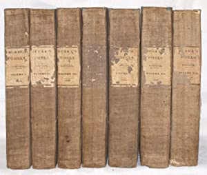 The works of the Right Honourable Edmund Burke. (7 volume set)