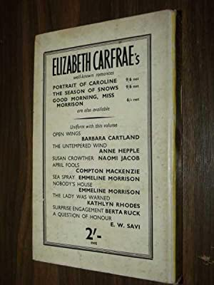 The Lonely Road: Carfrae, Elizabeth