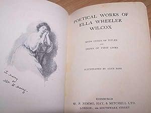 Poetical Works Of Ella Wheeler Wilcox: Wilcox, Ella W.