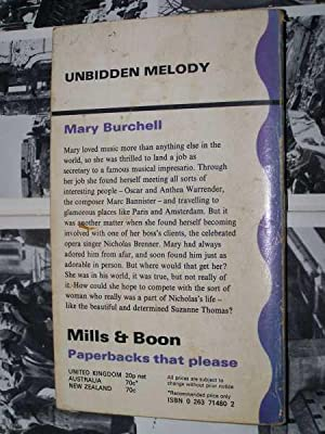 Unbidden Melody: Burchell, Mary