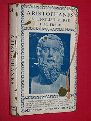 Aristophanes In English Verse: Frere, J.H.