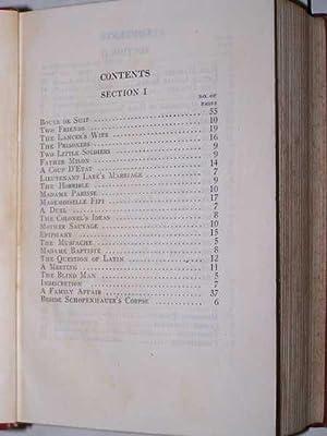 Original Short Stories: De Maupassant, Guy