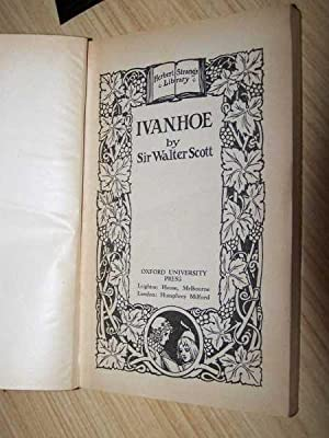 Ivanhoe: Scott, Sir Walter