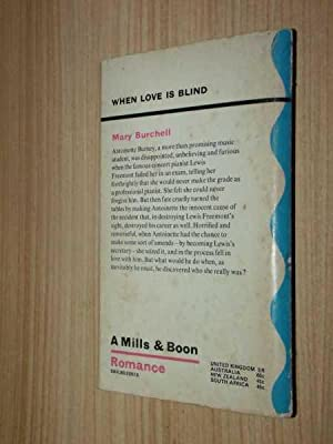 When Love Is Blind: Burchell, Mary