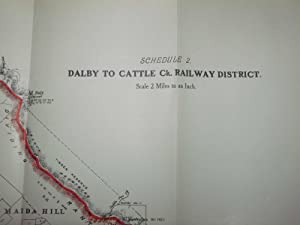 Dalby To Cattle Ck. Railway District: Bell Branch: Queensland Government