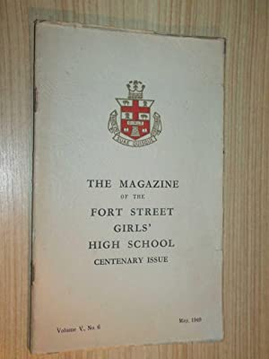 The Magazine Of The Fort Street Girls' High School May, 1949: Cohen Miss (Principal)