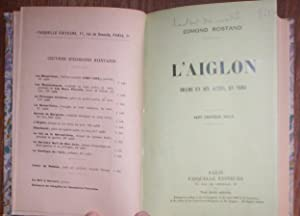 L'AIGLON DRAME EN SIX ACTES EN VERS: EDMOND ROSTAND