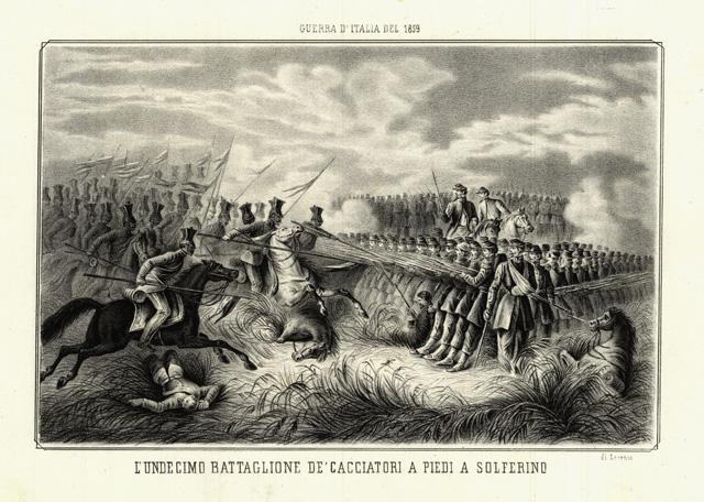 L'Undicesimo Battaglione De' Cacciatori a piedi a Solferino. Di Lorenzo A.