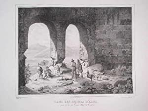 Dans les ruines d'Alba. / près le: Coignet