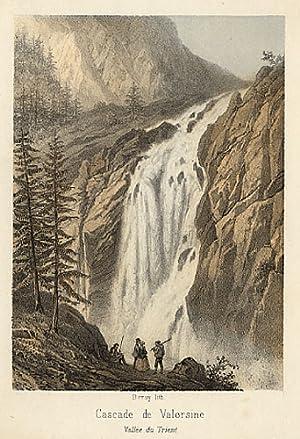 Cascade de Valorsine - Vallèe du Trient: Deroy