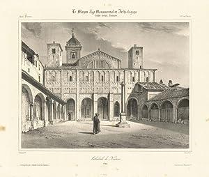 Cathèdrale de Novane: Chapuy del & Arnout lith.