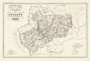 Provincia dell'Umbria / Circondario / di / Spoleto / e di / Terni: Vallardi Francesco edit.