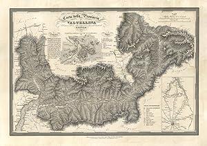Carta della Provincia di Valtellina.: Angeli V. dis. e inc.