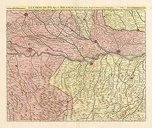 Le Cours du Po dans le Milanez: Berey Charles Amadeus