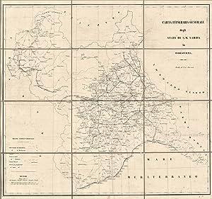 Carta itineraria generale degli Stati di S. M. Sarda in terraferma: anonimo