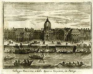 Collegio Mazarino, o delle Quattro Nazioni, in Parigi: Salmon