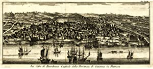 La città di Bordeaux Capitale della Provincia di Guienna in Francia: Salmon
